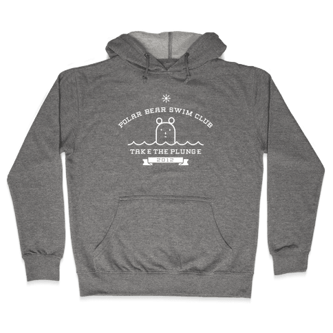 Polar Bear Swim Club Hooded Sweatshirt