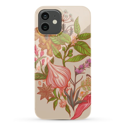 Chef's Botanical Herbs and Spices Phone Case