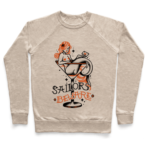 Sailors Beware Classic Tattoo Pullover