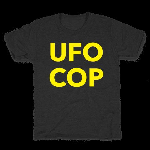 UFO COP Kids T-Shirt