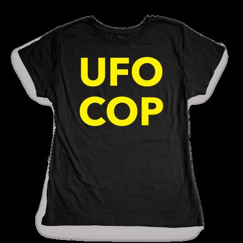 UFO COP Womens T-Shirt