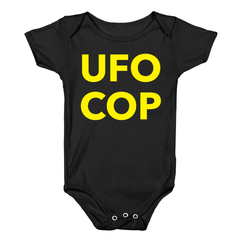 UFO COP Baby Onesy
