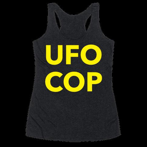 UFO COP Racerback Tank Top