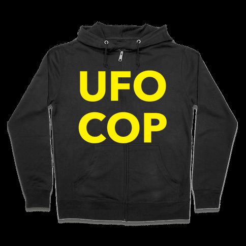 UFO COP Zip Hoodie