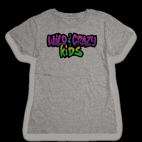 Wild & Crazy Kids Womens T-Shirt