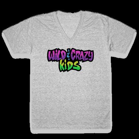 Wild & Crazy Kids V-Neck Tee Shirt