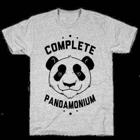 Complete Pandamonium Mens T-Shirt