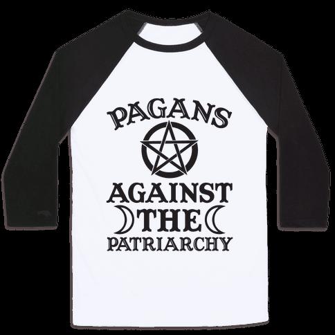 Pagans Against The Patriarchy Baseball Tee
