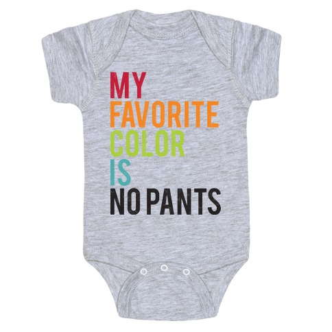 Favorite Color Baby Onesy