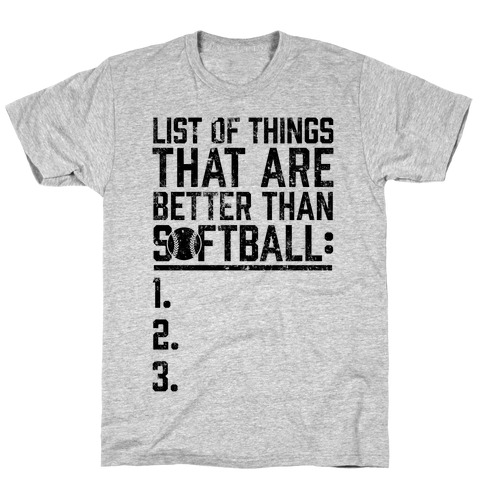 4b9b5c5a1 Softball Girls Softball T Shirts T-Shirts | LookHUMAN