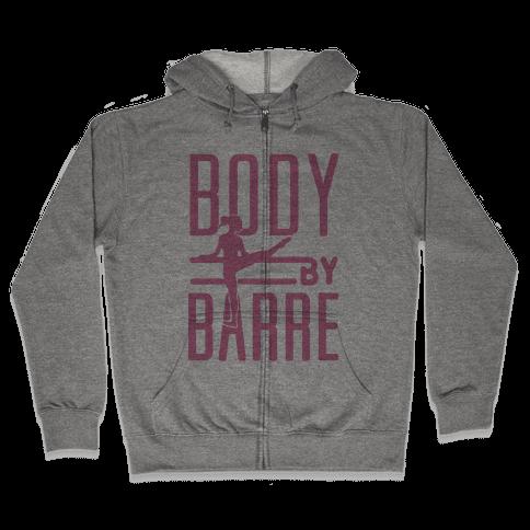 Body By Barre Zip Hoodie