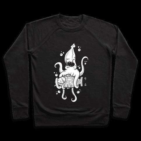Squid Attack Pullover
