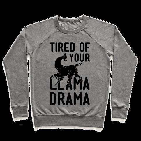 Llama Drama Pullover