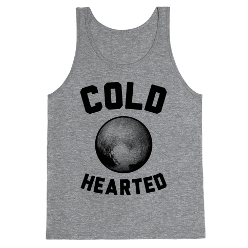Cold Hearted Pluto Tank Top