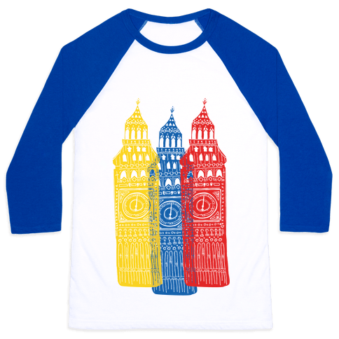 London's Big Bens Baseball Tee