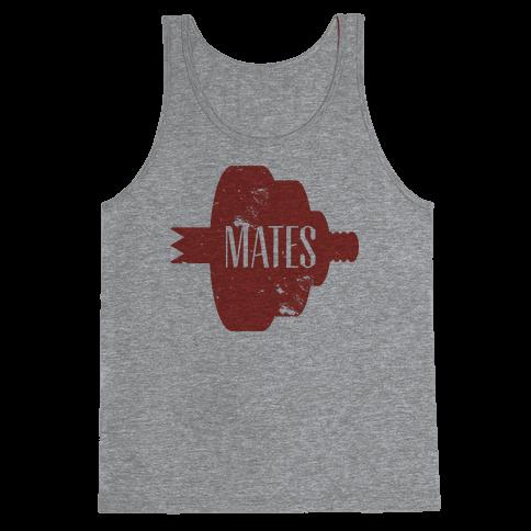 Mates half (red) Tank Top