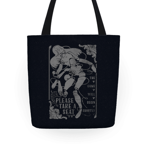 Death Parade Doll Tote