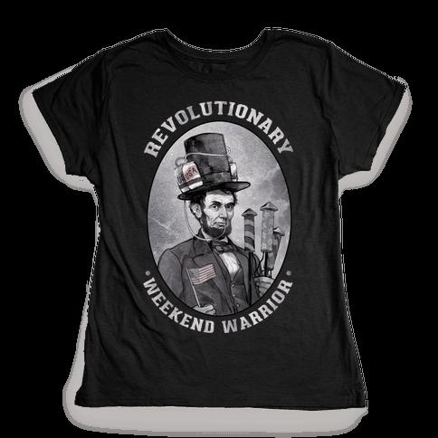 Revolutionary Weekend Warrior Womens T-Shirt