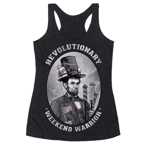 Revolutionary Weekend Warrior Racerback Tank Top