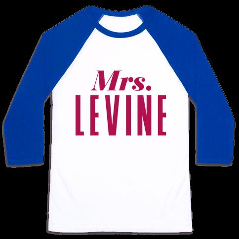 Mrs. Levine Baseball Tee