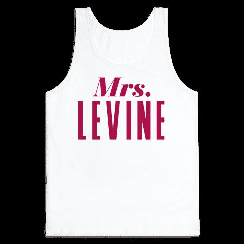 Mrs. Levine Tank Top