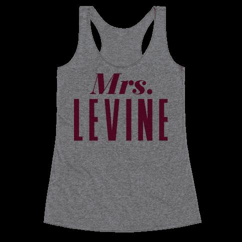 Mrs. Levine Racerback Tank Top