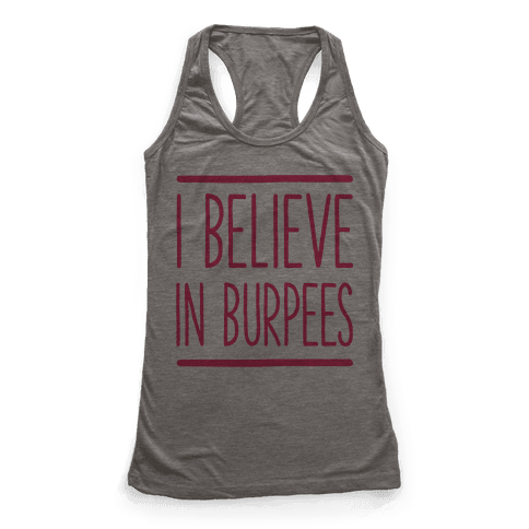 I Believe in Burpees