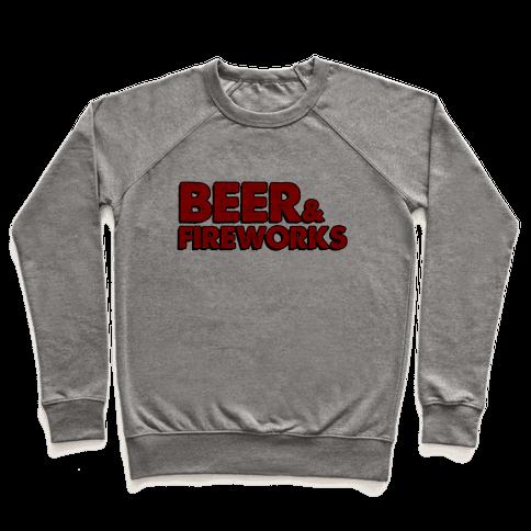 Beer & Fireworks Pullover