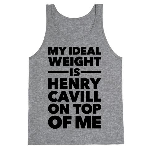 Ideal Weight (Henry Cavill) Tank Top