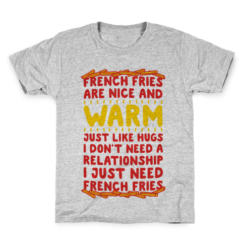 French Fry Love Kids T-Shirt