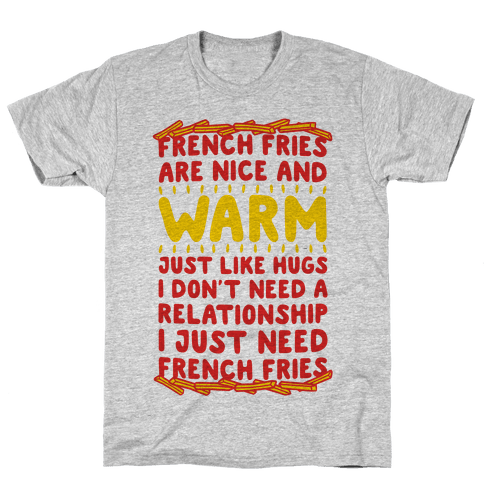 French Fry Love Mens T-Shirt