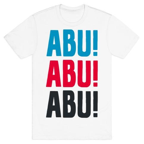 ABU ABU ABU! Mens T-Shirt