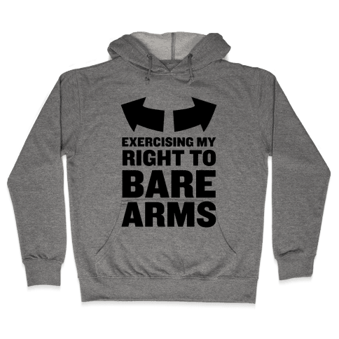 Right to Bare Arms Hooded Sweatshirt