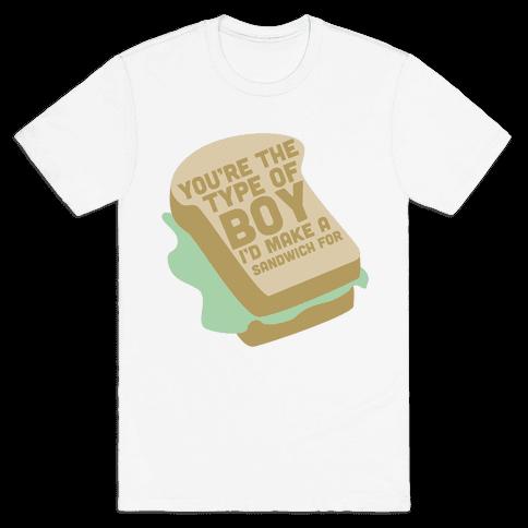 Sandwiches Mens T-Shirt
