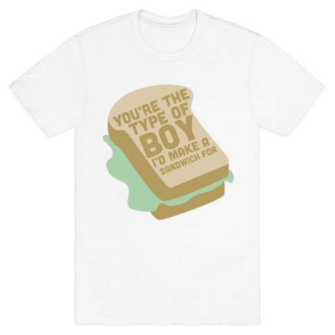 Sandwiches Mens T-Shirt