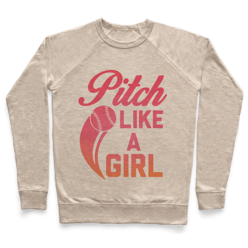 Pitch Like a Girl Pullover