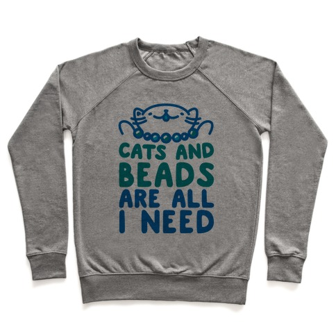 Cats and Beads Pullover