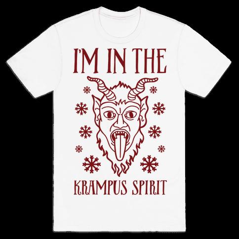 I'm In The Krampus Spirit Mens T-Shirt