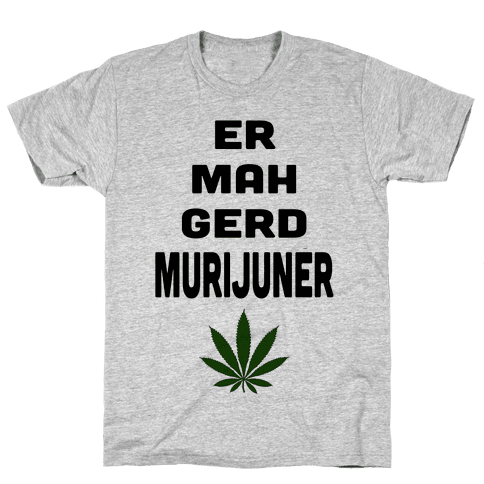 ERMAHGERD MURIJUNER (Tank) Mens T-Shirt