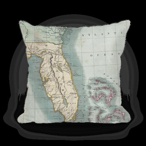 Vintage Coast Map
