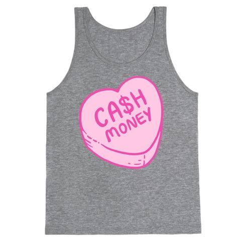 Cash Money Candy Heart Tank Top