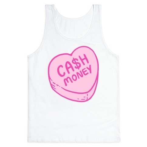 Cash Money Candy Heart Tank Top