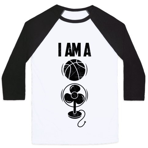 Basketball fan Baseball Tee