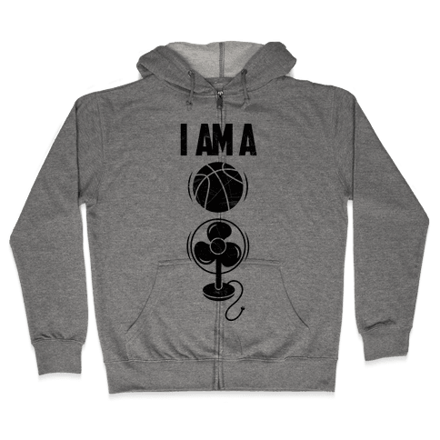 Basketball fan Zip Hoodie