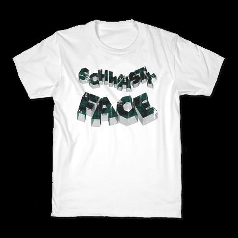 Schwasty Face Kids T-Shirt