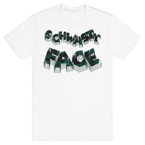 Schwasty Face Mens T-Shirt