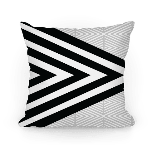 Large Geometric Diamond Pattern - Pillows - HUMAN