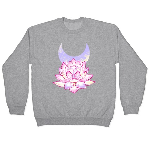 Silver Imperium Crystal Pullover