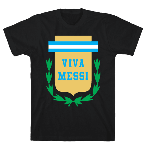 Viva Messi Mens T-Shirt