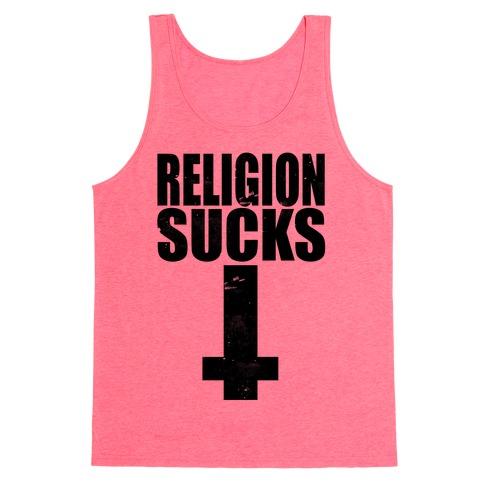 Religion Sucks Tank Top
